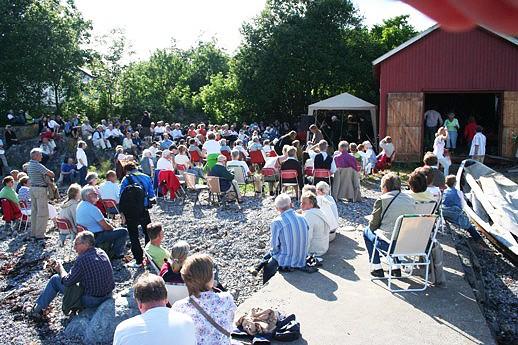 Jazzkonsert i naustveggen 24. juni 2007