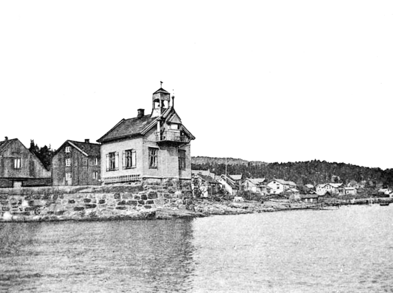 Filtvet fyr rundt år 1900.