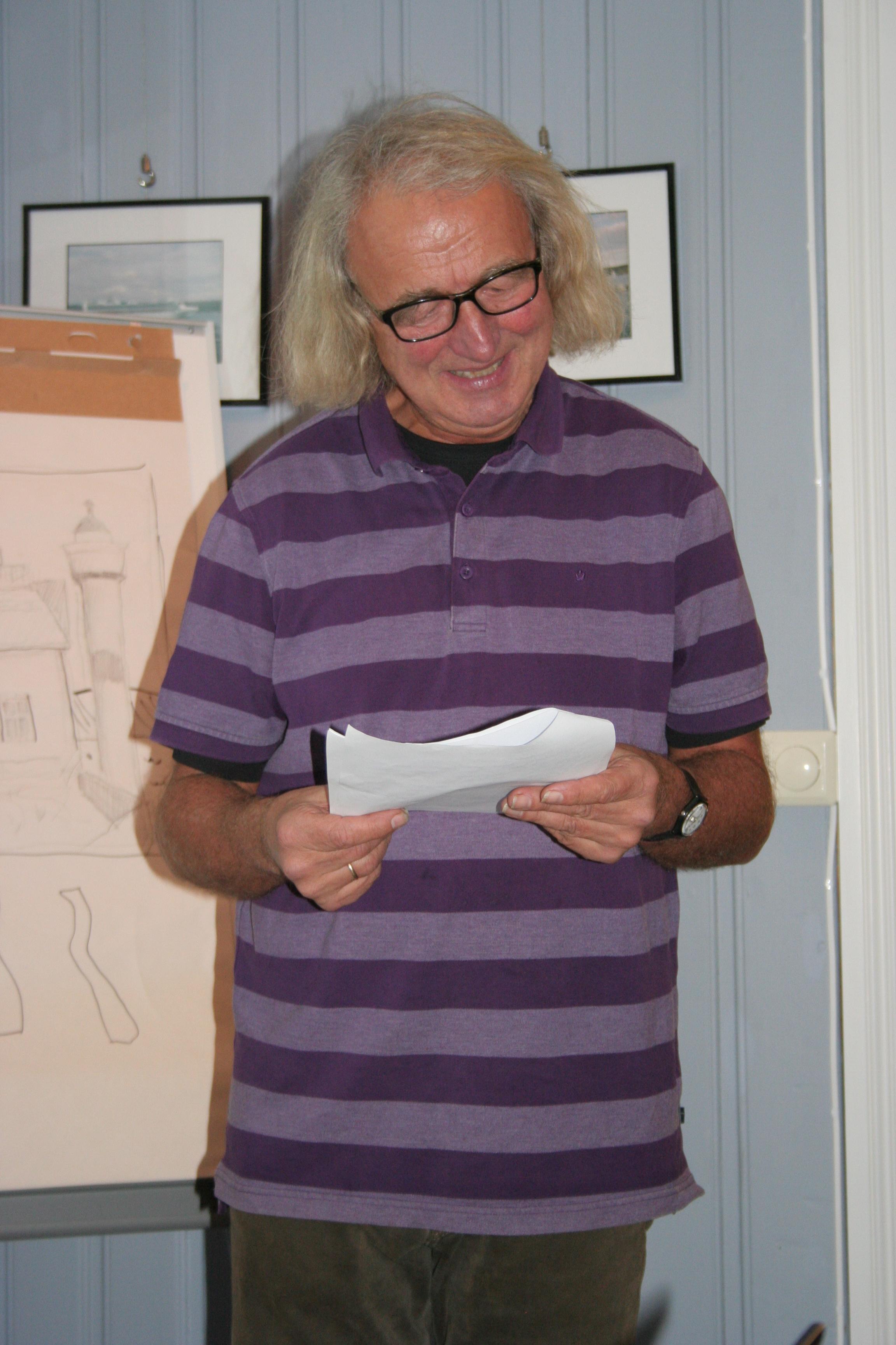 Tom Brenne - en engasjert foredragsholder