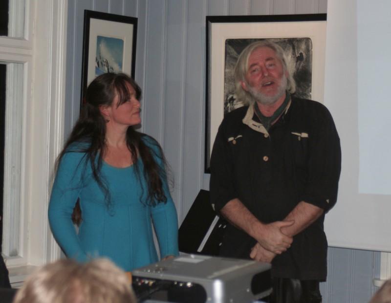 Berit Meland og Olaf Storø