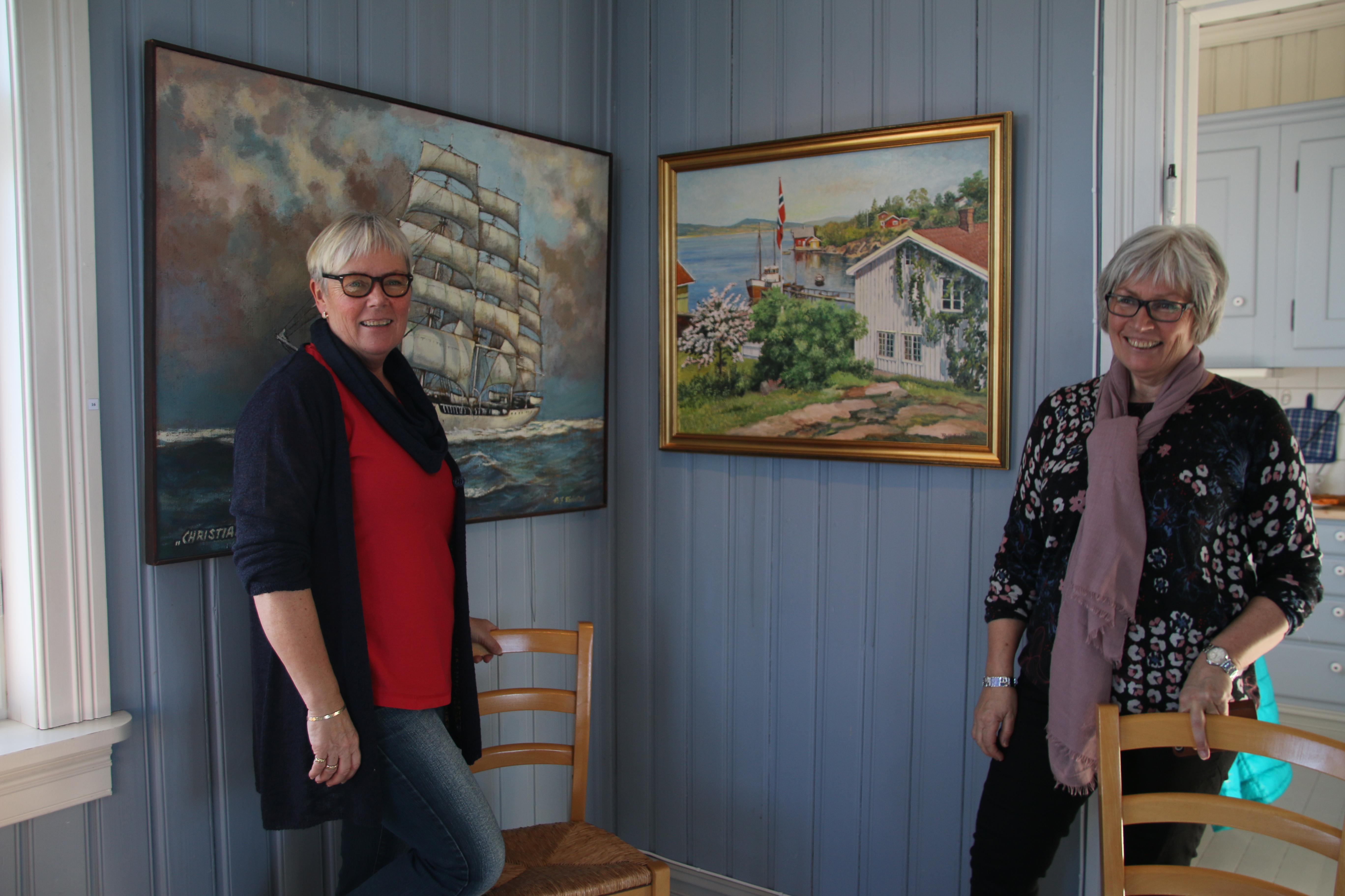 Bente R. Braathen (t.v.) og Grethe R. Hauge