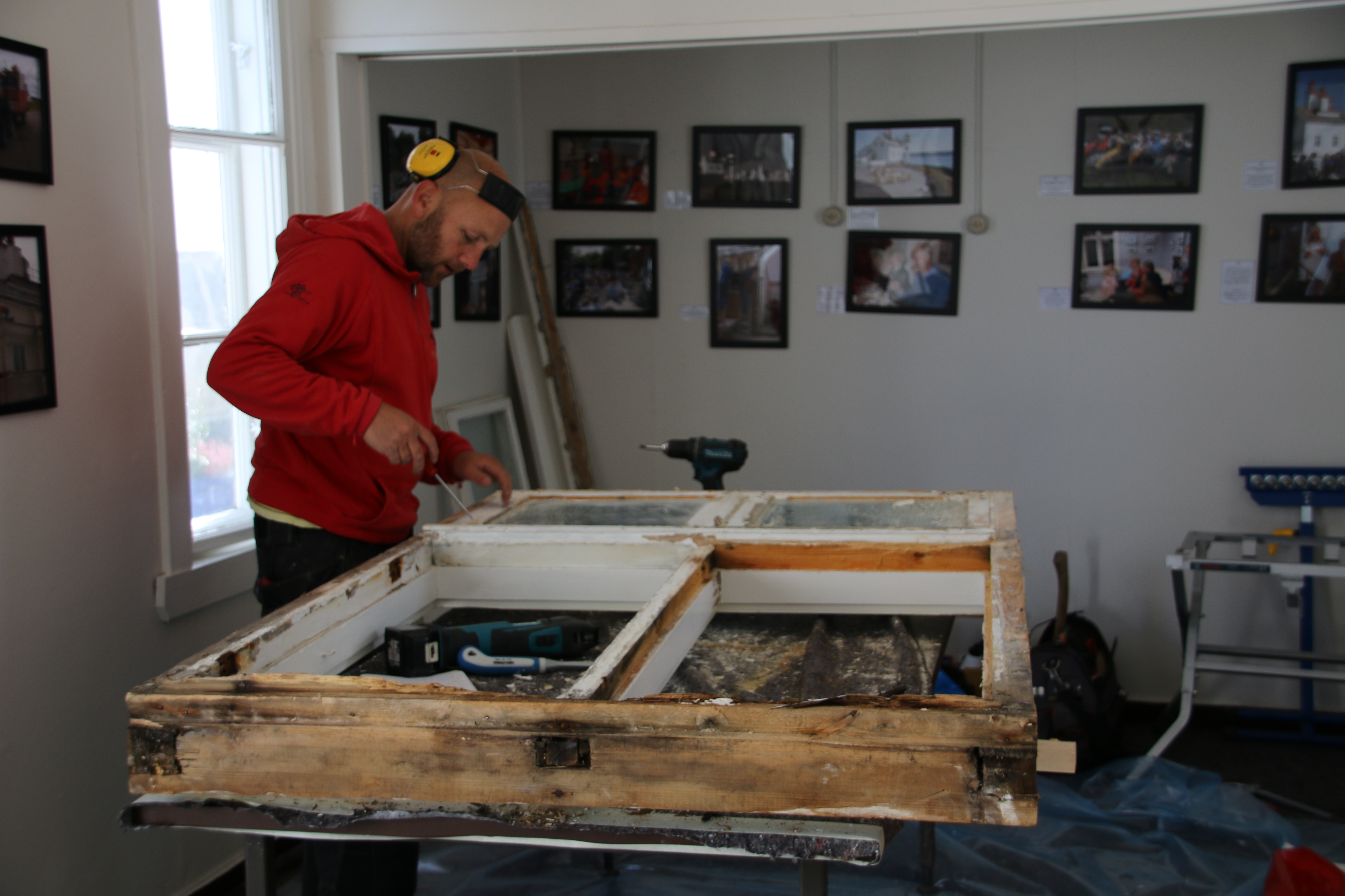 Thomas Løken - proff vindusreparatør