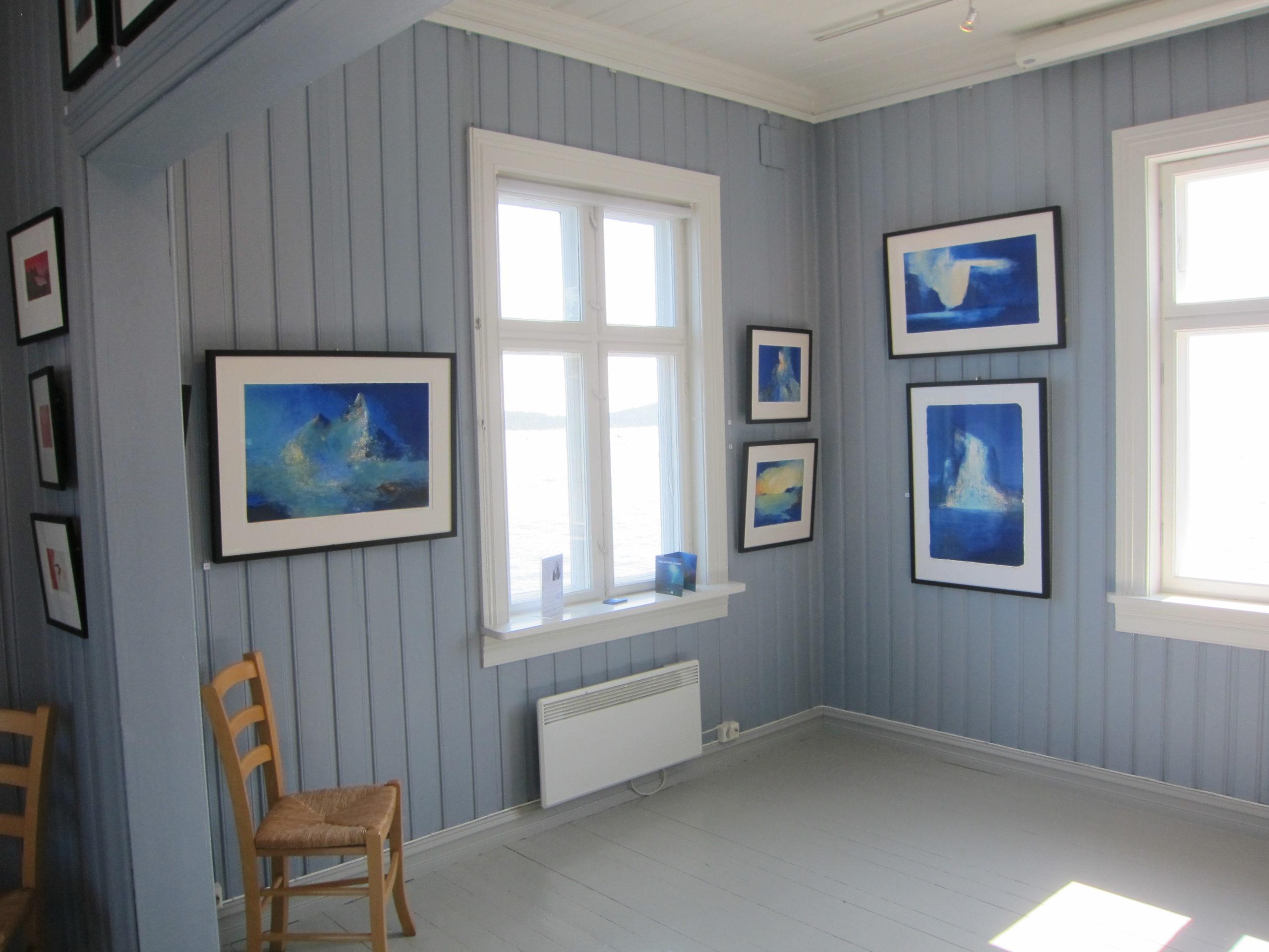 Fra blå stue syd og kunsten til Anne Kristine Thorsby